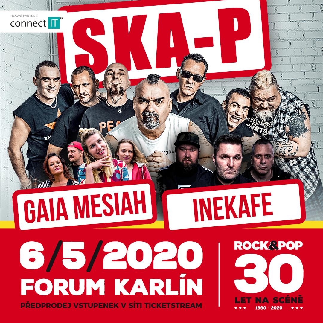 Ska-P (ESP), Gaia Mesiah (CZ) a Iné Kafe (SK)