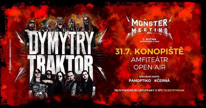 Monster Meeting CZ 2021  Konopiště  Open Air