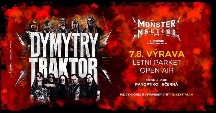 Monster Meeting CZ 2021  Výrava  Open Air