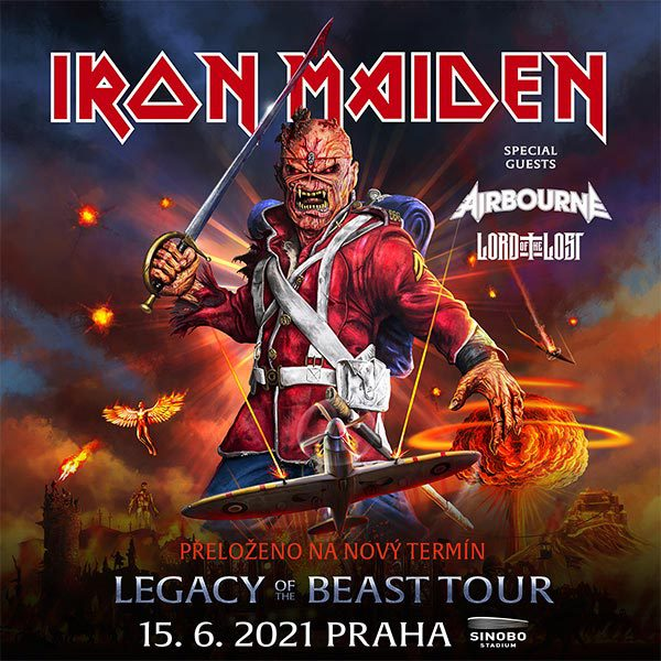 Iron Maiden: Legacy Of The Beast Tour 2021