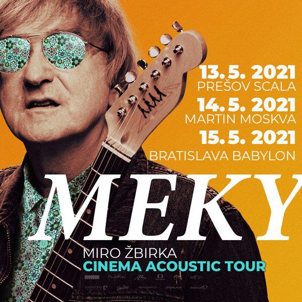 Miro Žbirka Cinema Acoustic Tour