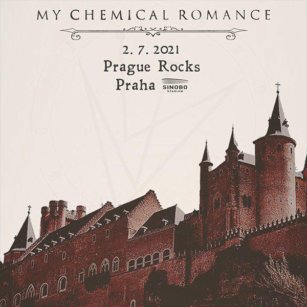 Prague Rocks 2021: My Chemical Romance