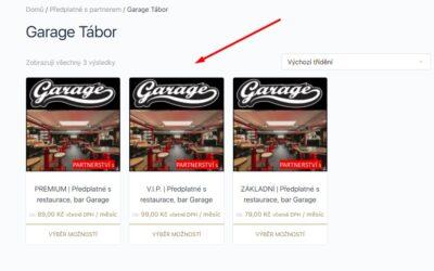Garage produkt
